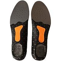 Gel heel+ Odour free +Metatarsal Cushion+Arch Support FULL FOOT ORTHOTIC INSOLE (Men's Grey Black: UK 7-9.5; EU... preisvergleich bei billige-tabletten.eu