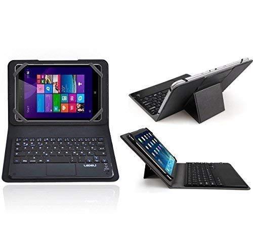 LEDELI Bluetooth Wireless QWERTZ deutsche Keyboard Tastatur für 7