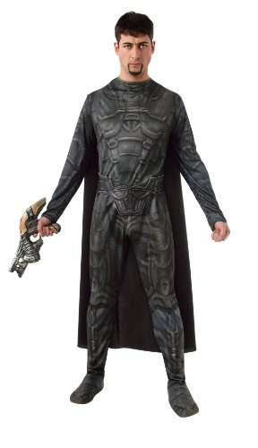 Man of Steel General Zod Kostüm für Herren, (Superman Kostüm 2 General Zod)