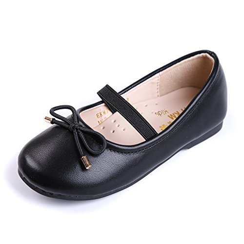 06a4c02fe05ee EIGHT KM EKM7004 Toddler Girls Mary Jane Flats Shoes Black 25