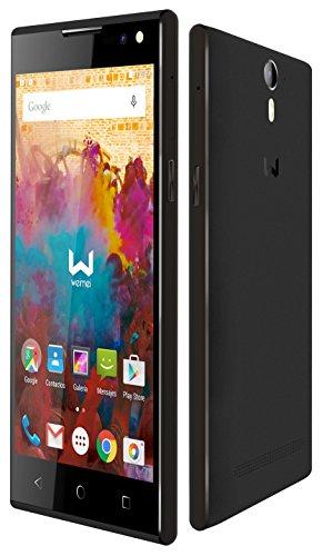 """Weimei We - Smartphone de 5"""" (Mediatek Octa Core, cámara trasera 13 MP, cámara frontal 5 MP, RAM de 3 GB, memoria interna de 16 GB, Dual SIM, Android Lolipop) gris"""
