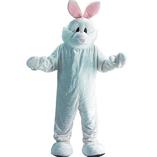 Carnival Toys 25901 - Hase, Herrenkostüm, Kopf und Füße separat, Universal L-XXL (Hase Kaninchen Maskottchen Kostüm)