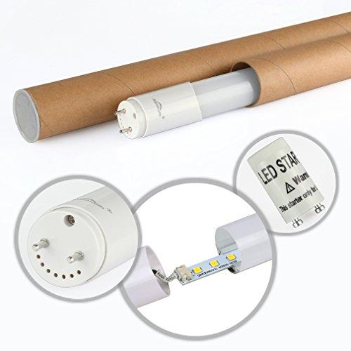 2 piezas DM T8 G13 90cm Tubo LED lámpara fluorescente 12W blanco fresco (6000-6500K), ambientalmente tubos LED con RoHs, CE, GS TUV certificado