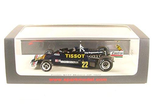 Preisvergleich Produktbild Ensign N177, No.22, Tissot, Formel 1, GP Monaco, 1977, Modellauto, Fertigmodell, Spark 1:43
