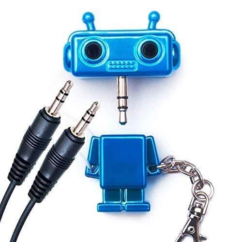 Conmutador auricualares audio auriculares-Audio-conmutador-adaptador