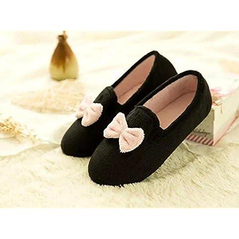 XXZZ Zapatillas Amor arco inicio zapatos antideslizante suave final de confinamiento de los zapatos de las mujeres embarazadas . d .