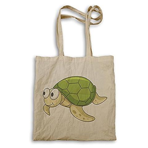 Schildkröte Smiley Cartoon Happy Animation Tragetasche g721r