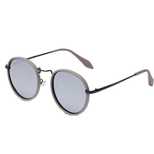 Ppy778 Sonnenbrillen Herren Polarized Vintage Round UV-Schutzbrillen
