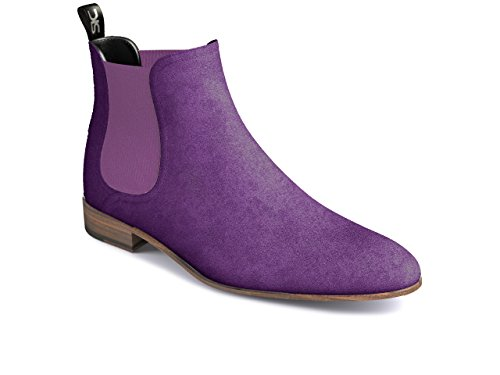 DIS - Roberto – Chelsea Boot – Homme Violet