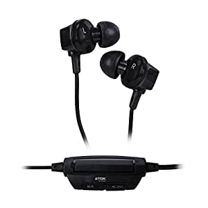 TDK NC360 Noise CancellingEarphones in Black