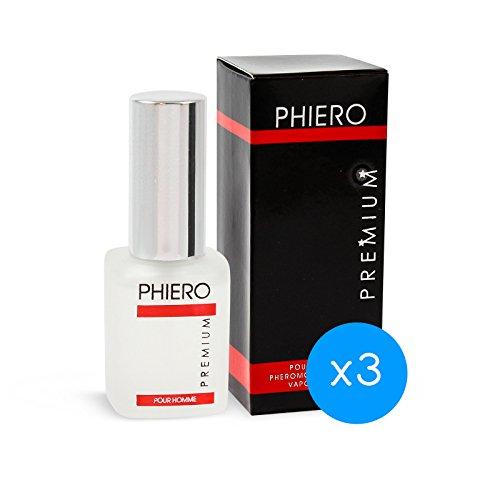 Feromonas - 3 Phiero Premium: Perfume con feromonas para hombre