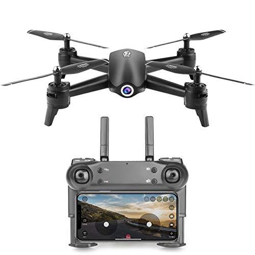 WANGOFUN FPV-Hubschrauber-Drohne, RC-Quadcopter mit 1080P HD-Kamera, Höhenstand, Schwerkraftsensor, RTF-One-Taste zum Abheben oder Landen, Kompatibles VR-Glassess