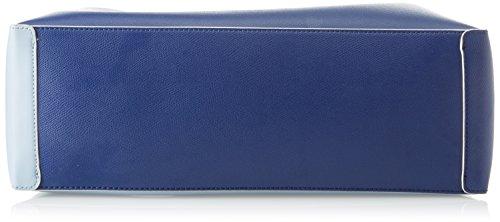 Byblos Lemur, Borsa Tote Donna, 17x27x42 cm Blu (Blu Azzurro)