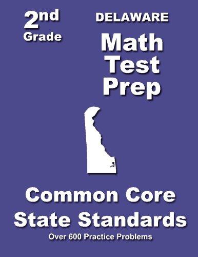 Delaware 2nd Grade Math Test Prep: Common Core State Standards