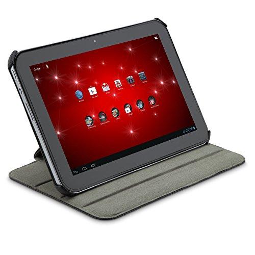 Toshiba Portfolio DUO Hülle für Tablet (Folio, Schwarz, Leder, PVC, Toshiba Excite 10, Kratzresistent) (10 Excite Toshiba Tablet)