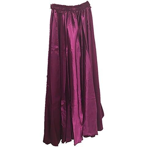 Donne Danzawea Danza del ventre Gonne Tribal Danza Costumes Two Side Slit anca Sciarpa Gonne Belt Maxi Gonne