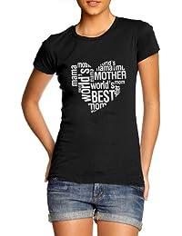Women's Worlds Best Mum Birthday / Mothers Day T-Shirt