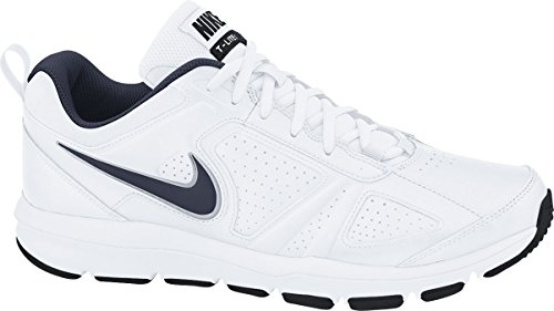 Price comparison product image Nike T-Lite Xi, Men Fitness Shoes, White (White/Obsidian/Black/Metallic Silver), 9 UK (44 EU)