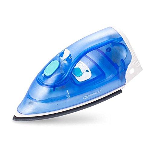 Kitzen Dampf-Bügeleisen mit Dampf-Boost Keramik-Soleplate und Sicherheit Auto-Off, 20 ml Wassertank, 750 Watt, 3 Arten von Temperaturregelung, Blau High quality