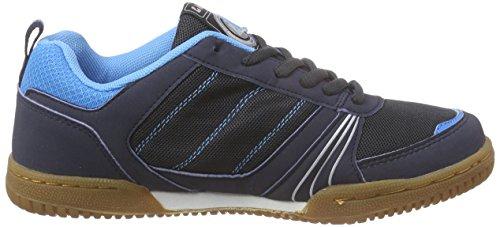 Killtec Soccero Unisex-Erwachsene Hallenschuhe Blau (dunkelnavy / 00814)