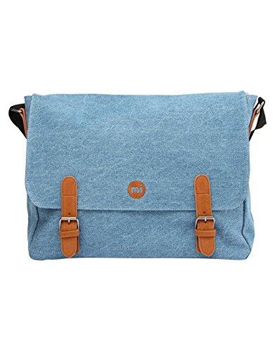 Mi-Pac Messenger Premium Bag Bolsa de Cuerdas para El Gimnasio, 39 cm, 14 litros, Den Stonewash