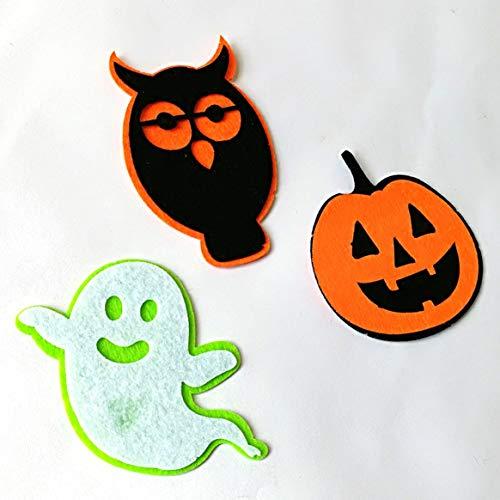 Halloween Decor Supplies Vlies Wand Dekoration Szene Layout Anhänger Ornament für Home Office Schule
