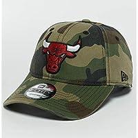 New Era Washed Camo 9Forty Adjustable Cap CHICAGO BULLS Camouflage