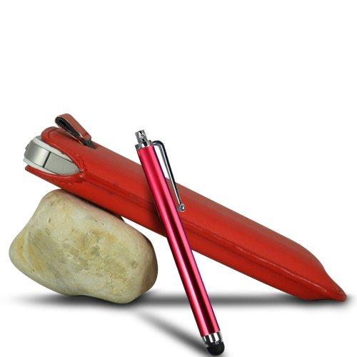 Vert/Green - Samsung Galaxy S4 mini plus I9195I Housse deuxième peau et étui de protection en cuir PU de qualité supérieure à cordon et écouteurs intra-auriculaires de 3,5 mm assortis par Gadget Giant Rouge/Red & Stylus Pen
