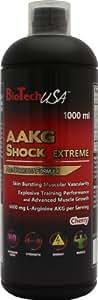 Biotech USA 15003010200 AAKG Shock Extrême Énergisant Saveur Cerise