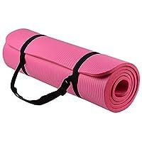 Skyland Yoga Mat, Pink- 10mm Thick