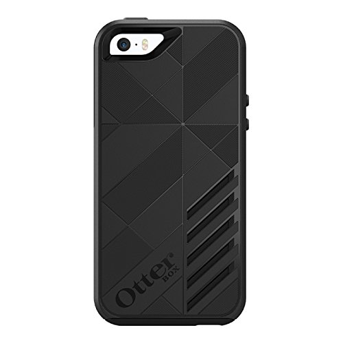 Otterbox Achiever sturzsichere Schutzhülle für Apple iPhone 5 / 5S / SE, schwarz - Iphone Otterbox 5s Fälle