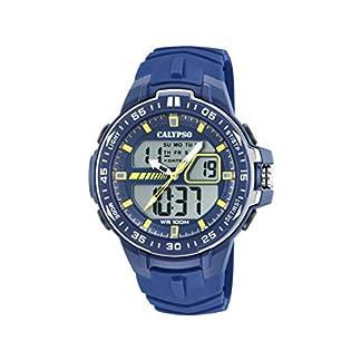 Calypso Watches Reloj Analógico-Digital para Hombre de Cuarzo con Correa en Plástico K5766/1
