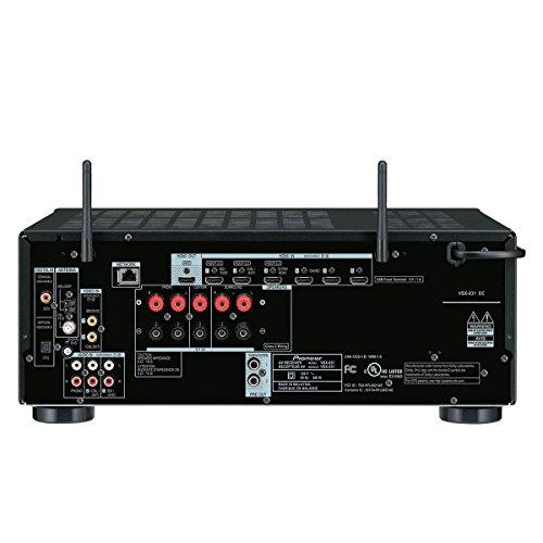 Pioneer VSX-831-B - Receptor AV multicanal (4K Ultra HD, 60 Hz, HDMI), Color Negro