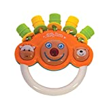 Mee Mee Musical Rattle Toy, Orange