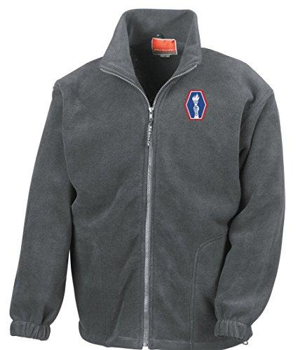 ion Embroidered Logo - Full Zip Fleece By Military online (Vietnam-veteran-fleece-jacke)
