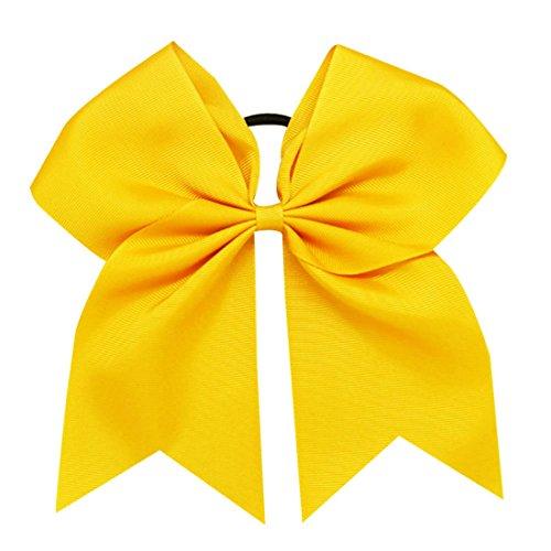 arschleife Cheerleading Haarschmuck Cheer Bow Pony Tail für Mädchen 1 Stück (#645) ()