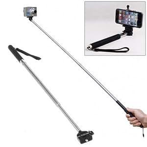 Perche Télescopique Selfie pour Smartphone, Appareil Photo et Gopro