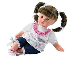 Götz Puppenmanufaktur 0920945 - Muffin, 33 cm, braune Haare, braune Augen