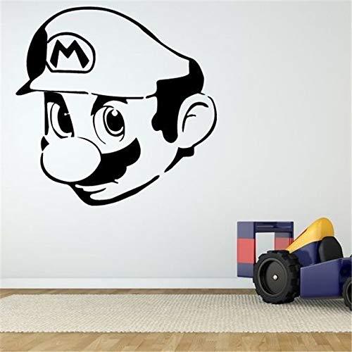 Wandaufkleber,Wand Room Decor Art Vinyl Aufkleber Wandbild Aufkleber Videospiel Charakter Home Decor Cartoon Niedlichen Wohnzimmer Kinderzimmer 58X57