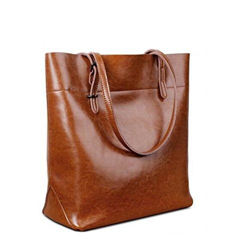 s-lady-design-damen-wachs-elegant-fashion-echtes-leder-rindleder-schultertasche-handtasche-braun