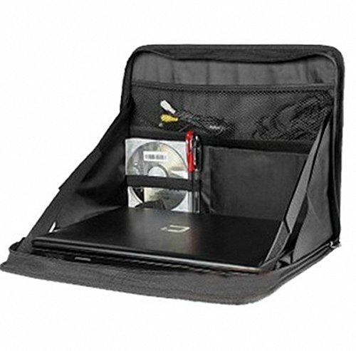 Blue BD GmbH - Supporto, vassoio, borsa laptop multifunzionale da auto/autoveicolo, colore: Nero II