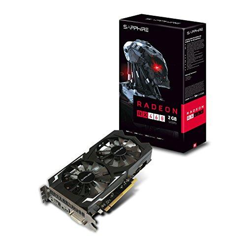 SAPPHIRE RADEON RX 460 2GB GDDR5  PCI-E HDMI / DVI-D / DP OC (UEFI)
