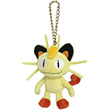 Pocket Monsters Pokemon mascota suave peluche con cadena - PM06 Meowth