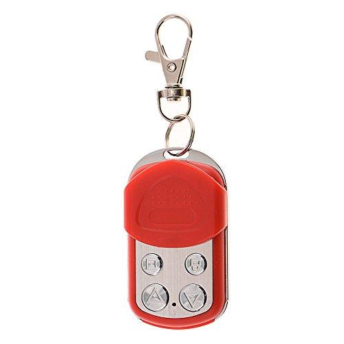 Acogedor-Universal-RF-cdigo-Fijo-Mando-a-Distancia-Keyfob-Garage-Coches-Puertas-Sistemas-de-Alarma-etc-43392MHZ