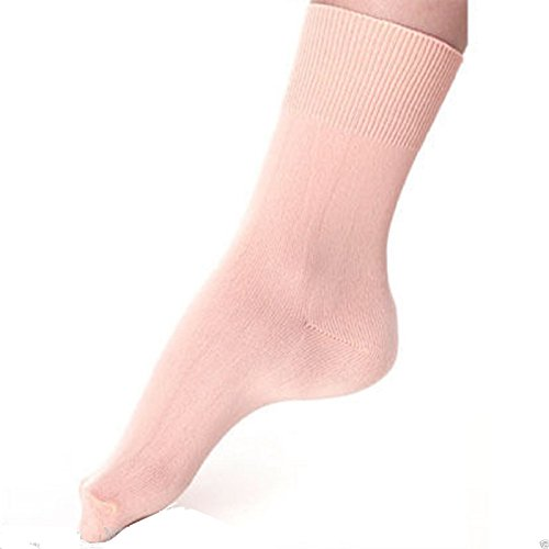 Mytoptrendz® Girls Pink Ballet Dance Socks 9-12 size