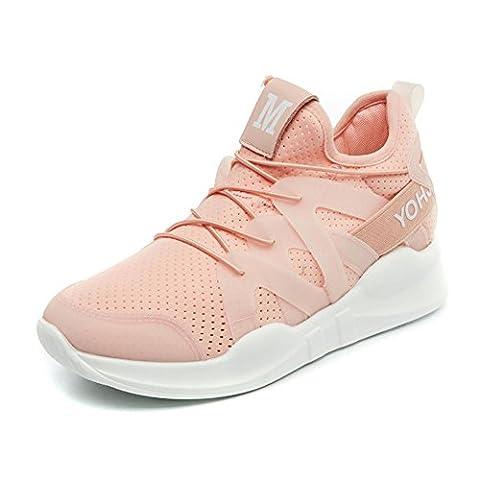 Chaussures de sport pour dames / femmes printemps et été baskets légers et respirants , pink , 41