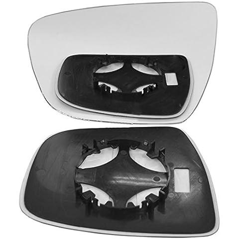 Mano sinistra lato passeggero Ala Porta Specchio per Nissan Juke 2014–16clip on - Nissan Lato Passeggero Specchio