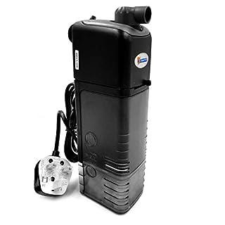 Superfish Compact Aqua-Flow 300L Internal Filter 540L/H Flow Fish Tank Aquarium Filtration Flow Adjustable Easy Clean