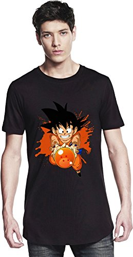 Kid Goku And Dragon Ball Long T-shirt Small