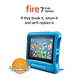 All-new Fire 7 Kids Edition Tablet | 7 Display, 16 GB, Blue Kid-Proof Case